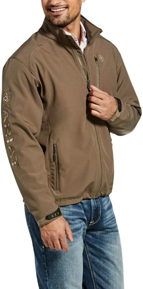 ARIAT Men's Logo 2.0 Softshell Jacket Morel/Camo