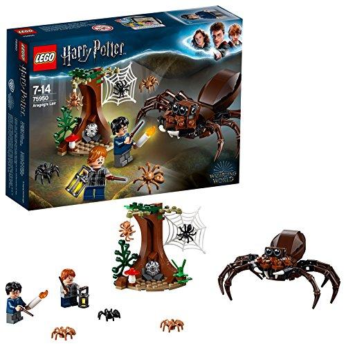 LEGO Harry Potter - Guarida de Aragog, Juguete de Construcción de Aventuras Basado en la Película (75950)
