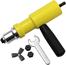 Herramienta de remache eléctrico de 2,4 mm a 4,8 mm, herramienta de remachado sin cable, adaptador de taladro remachador, herramienta de tuerca, adaptador de taladro remachado