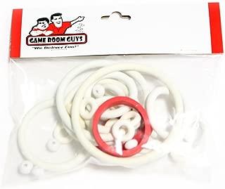 Game Room Guys Gottlieb 1983 Royal Flush Deluxe Pinball White Rubber Ring K