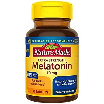 nature made melatonin 10mg