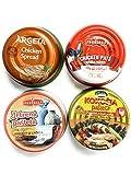 Podravka Chicken Pate, Spresd and Liver Pate Mix 4 different tastes