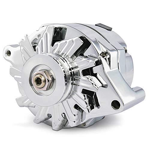 chrome alternator for car - 4