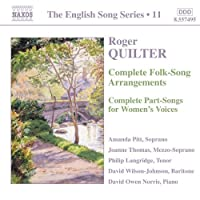 The English Song Series 11: Roger Quilter (2005-04-19)