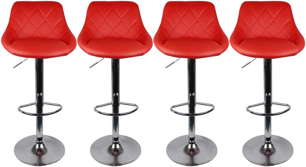 Counter Height Al sold out. Bar Stools Set 4 Adjustable of Limited Special Price