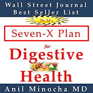 Dr. M's Seven-X Plan for Digestive Health cover art
