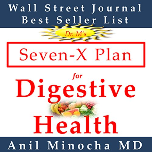 Dr. M's Seven-X Plan for Digestive Health audiobook cover art