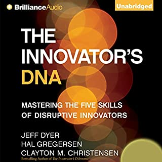 The Innovator's DNA audiobook cover art
