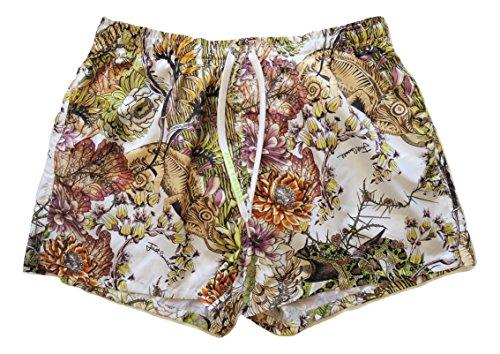Just Cavalli Costume da Bagno Uomo Boxer Corto E6B640220.181 Stampa Giapponese (52 EU)