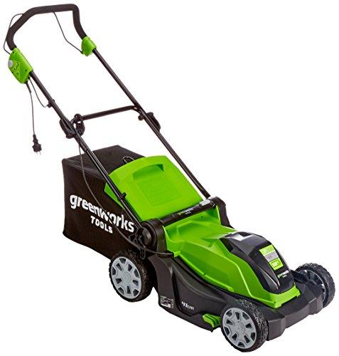 Greenworks Cortacésped eléctrico 2-en-1, 40cm, 1200W - 2505207