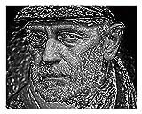 Graig - Quadro Pop Art Museum Collection - 50 x 40 cm su Canvas spessore 3 cm - Edizione Limitata - Stampe Artisti - Cerificato Di Autenticità