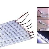 Tira de LED se ilumina Kit Blanca Piscina LED tira rígida IP68 9W SMD 7020 36LED 12V 50cm