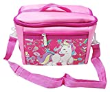 ONOTIC Sling Canvas Unicorn Insulated Lunch Bag for Girls