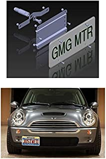 Mini Cooper NO Holes License Plate Bracket (up to 2014 / R Models) Does NOT FIT New F55/ F56/ F57, Countryman, Clubman or Paceman Models