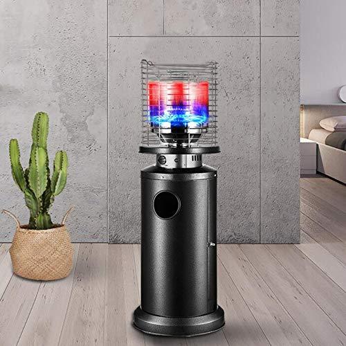 L-ELEGANT Calentador Patio a Gas para Exterior,Independiente Radiador,Acero Inoxidable Bajo Consumo Calefactor Ahorro de Energía Jardín Terraza Barbacoa -10kw 150cm(59in)