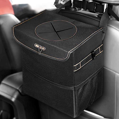 BOLTLINK Car Trash Can with Lid,...