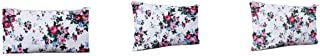 JEH Women Combo of 3 Cotton Zipper Pouch for Multipurpose Storage Pouch Travel Case/Money Pouch/Wallet/Make Up Kit 3 Different Sizes (Small, Medium, Large)(Height: 11.5, Length: 22.3, Width: 2 cm)