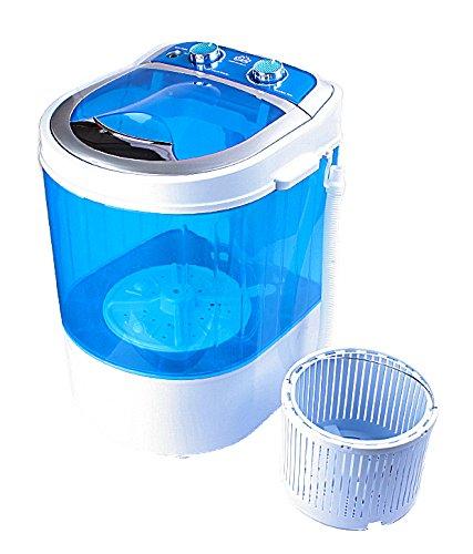 DMR 3 kg Inverter Portable Semi Automatic Top-Loading Mini Washing Machine with Dryer Basket (DMR 30-1208 (W2Yr), Blue)