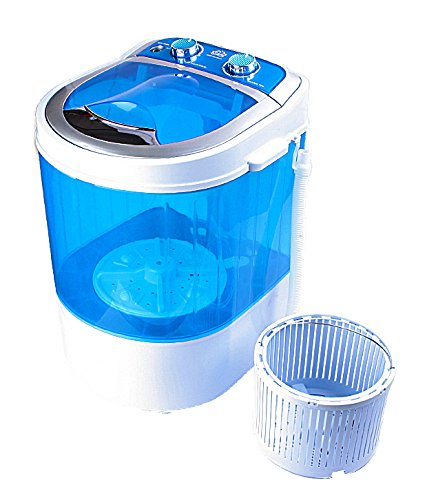 DMR 3 kg Portable Mini Washing Machine with Dryer Basket (DMR 30-1208, Blue)