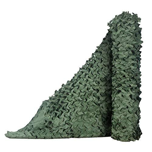 Cortina de la red de camuflaje bosque de defensa aérea de la tierra de protección de camuflaje red de acampar al aire libre anti-UV decoración del partido de camping tienda de campaña cubierta de camu