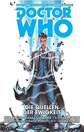 Doctor Who - Der zehnte Doktor, Band 3: Die Quellen der Ewigkeit (Comic)