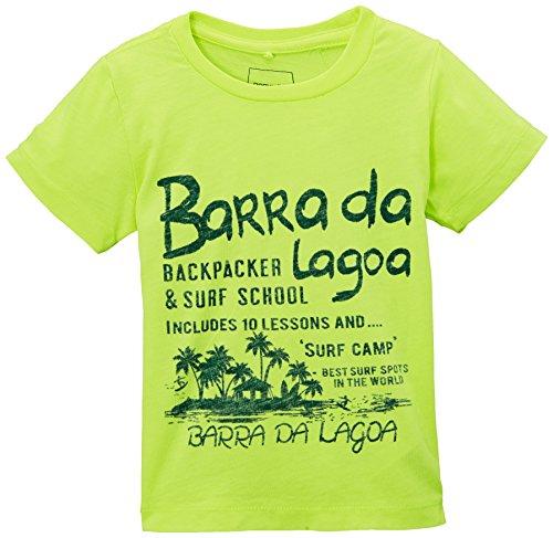 Name it Ibra - T-shirt - Bébé garçon - Jaune (Lemon Tonic) - FR : 12 mois (Taille fabricant : 80)