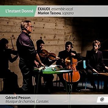 Gérard Pesson: Musique de chambre, cantates