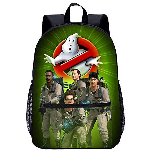 Ghostbusters Rucksack beiläufige Rucksack-Schule-Rucksack Personality Printed Rucksack Sports Daypack Unisex (Color : A06, Size : 45 X 31 X 14cm)