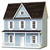 Real Good Toys Dollhouse Miniature 1/24 Scale Farmhouse Kit by RGT