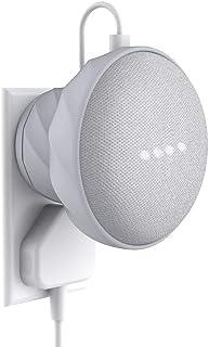 KIWI design- Wall Mount for Google Home Mini - Light Stone Grey