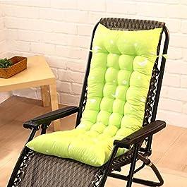 Épaissir Lounger Chaise Coussin Rocking Chair Pad Coussin De Chaise en Rotin Pliable pour Bureau À Domicile Jardin…