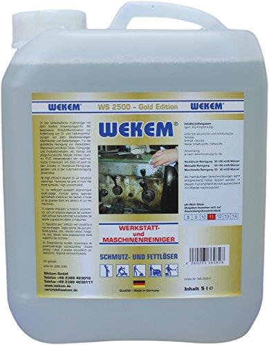 WEKEM Profi Werkstatt und Maschinenreiniger 5 Liter Kanister