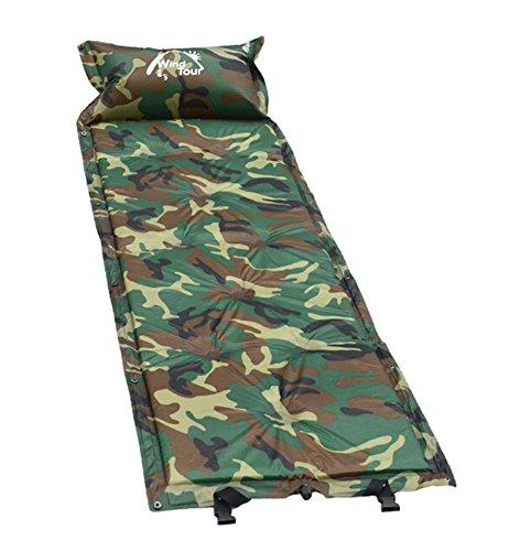 Multifonction extérieur Camping Automatique Air Pad Matelas de couchage Camouflage un