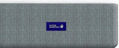 Mister Sandman Anea Matratze 17cm - Kaltschaum mit 7-Zonen Würfelschnitt, Größe wählbar, 2in1 Härtegrade, Bezug Waschbar, Made in Germany, Öko-Tex (160 x 200 cm, Kaltschaummatratze)
