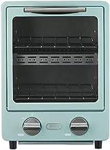 ASKLKD Mini Horno hogar pequeño Horno multifunción Capacidad 9L Diseño de Doble Capa 95-230 ° C Tornillo de horneado con Temporizador Pizza Pan Hornear Máquina de Hornear Cocina Cocina