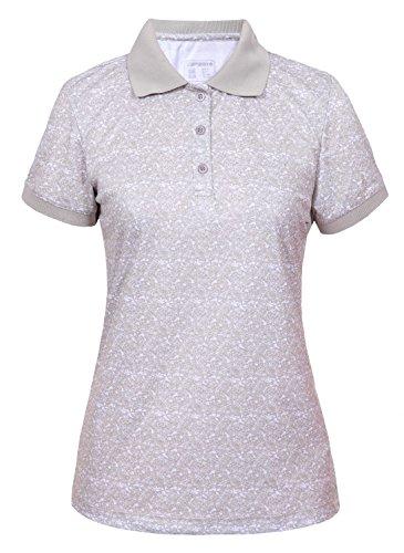 Icepeak Sadah Damen Poloshirt, Größe:38, Farbe:KITT