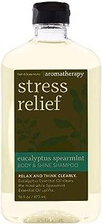 Bath & Body Works Stress Relief Eucalyptus Spearmint Body & Shine Shampoo 16 Fl Oz
