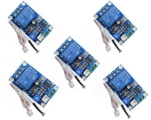 XH-M131 Photosensitive Resistor Module Brightness Automatic Control Module 5V 12V 24v Light Control Relay Light Switch CDS Control Module (5pcs - 12V)