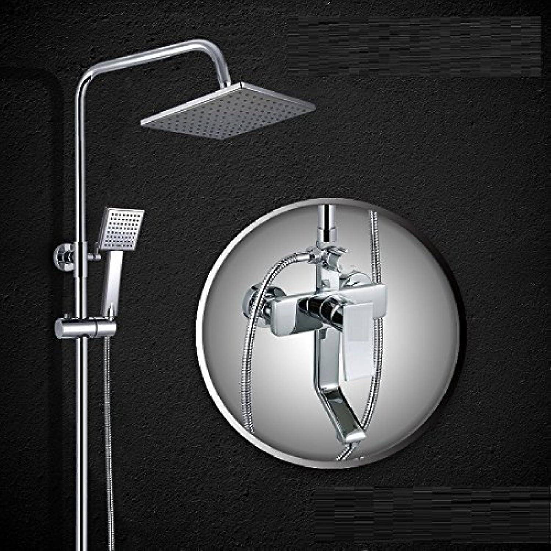 Square Dusche Wc Anzug Warm Kalt Kupfer Hahn Zimmer Badezimmer Dusche Badewanne Dusche