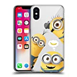 Head Case Designs Officially Licensed by Despicable Me Banana Funny Minions Soft Gel Case Compatible with Apple iPhone X/iPhone Xs
