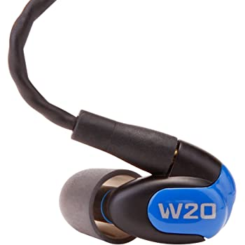 Westone W20 Dual-Driver True-Fit Earphones with MMCX Audio Cable and 3 Button MFi Cable with Microphone