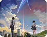 Mouse Pad - Your Name. Kimi No Na Wa Computer Non Slip Mat Anime