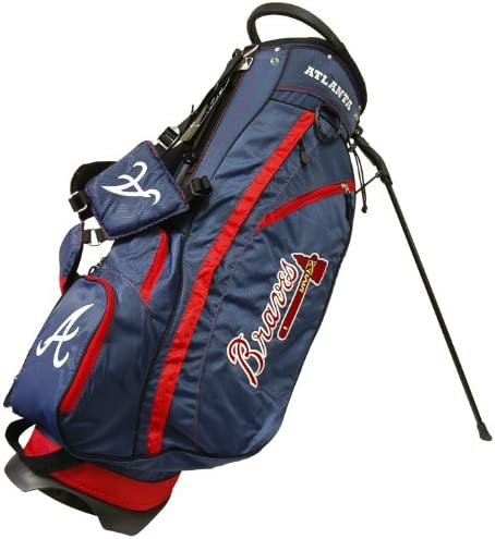 Team Golf MLB Atlanta Braves Fairway Golf Stand Bag Lightweight 14 way Top Spring Action Stand product image