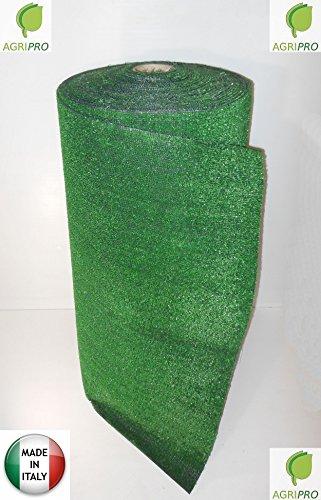 Gazon synthétique MT 1 x 20 herbe synthétique 7 mm Tapis Paillasson Vert