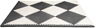 Skip Hop Playspot Interlocking Foam Play Mat For Babies And Infants, Black/Cream Color Theme