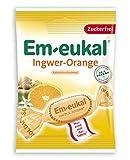 Em-eukal Jengibre-Naranja sin azúcar 75g, paquete de 5 (5 x 75 g)