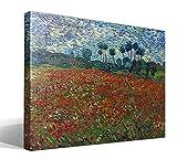 Cuadro Canvas Campo de Amapolas de Vincent Willem Van Gogh