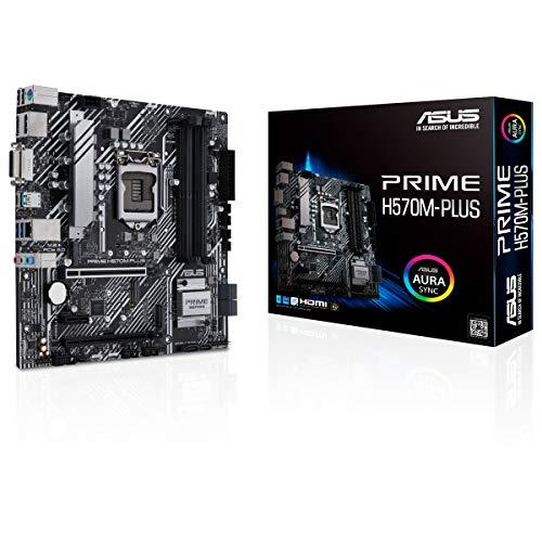 ASUS Prime H570M-PLUS - Placa Base Micro-ATX (Intel H570 LGA 1200 con...