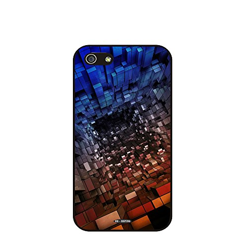 DH-hoping (TM) cell phone case for Personalizatied Custom Picture Iphone 5c High Impackt Combo Soft Silicon Rubber Hybrid Hard Pc & Metal Aluminum Protective Case with Customizatied abstract pocket watch plaid Retro Style Luxurious Pattern (Abstract art-01)