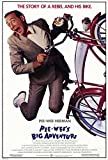 Pee wee's Big Adventure POSTER Movie (27 x 40 Inches - 69cm x 102cm) (1985)